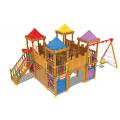 Complexe de joaca din lemn