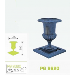 Jardiniera fonta PG-8620